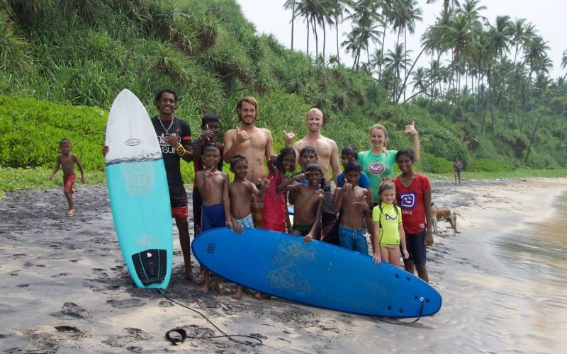 Surf Kids Club Sri Lanka